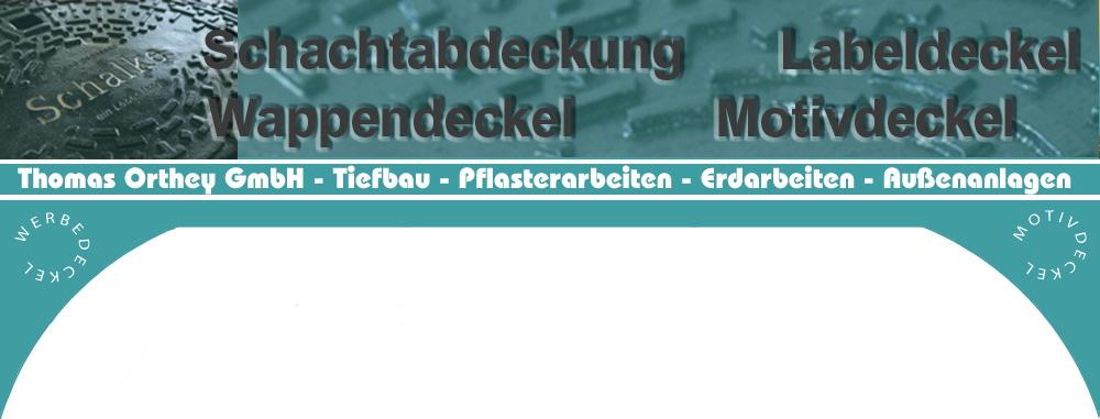 Trendig Wappendeckel Schachtdeckel Labeldeckel mit Wappen im Westerwald WW OB17